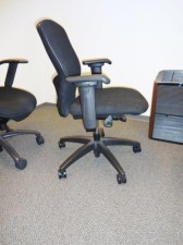 Teknion t-3 Black on Black Swivel Task chairs Great condition Irvine