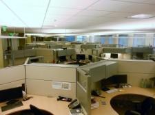 Haworth Premise Hi/Lo 120 degree Workstations 48 - 64\