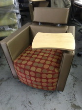 Upholstered Tablet seating